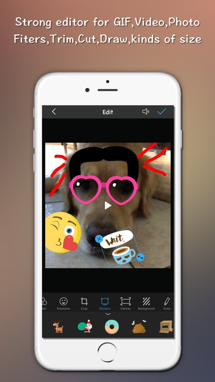 Gif Maker Editor - Edit Video live photo to GIF