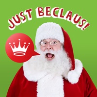 Just BeClaus - Animated Christmas Santa Stickers
