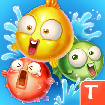Marine Adventure -- Collect and Match 3 Fish Puzzle Game for TANGO Logo