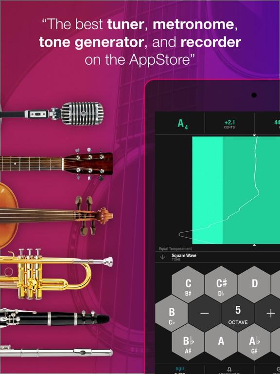 Tunable - Music Practice Tools Screenshots