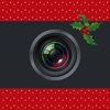 Bordermas - メリークリスマス ハッピーニューイヤー 美しくデザインされた境界線とステッカ