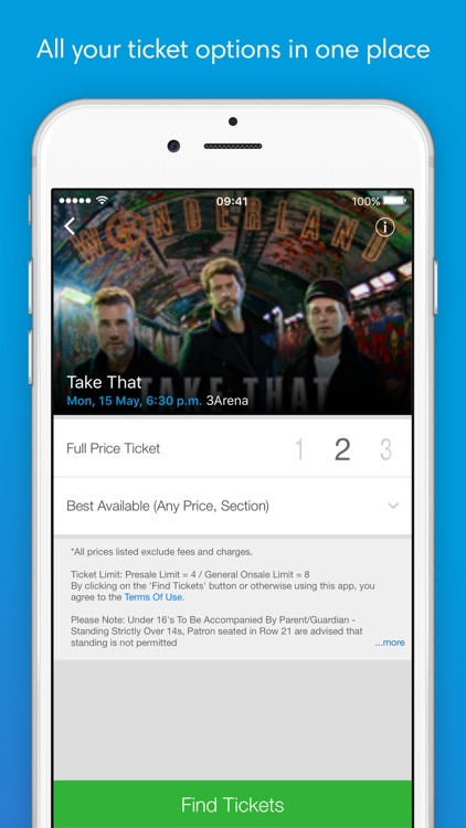 Ticketmaster IE - Tickets for Concerts & Sports