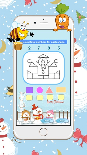Kindergarten Math Color Number Shapes Worksheets on the App Store