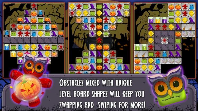 Halloween Drops 2 - Match three puzzle screenshot-3