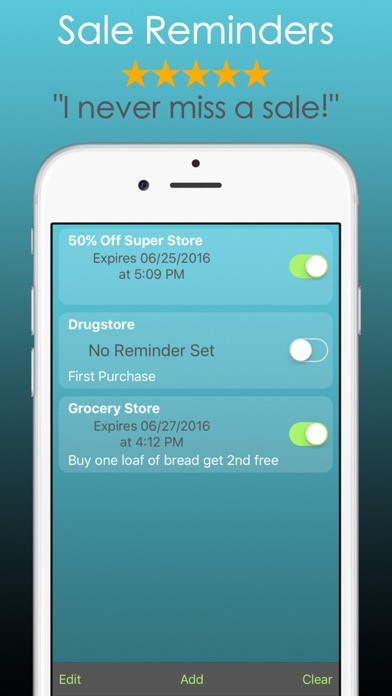Discount Calculator PRO Saving Screenshots