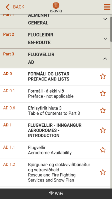 AIP Iceland screenshot two