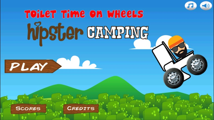 Toilet Time on Wheels-Hipster Camping