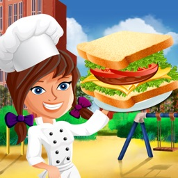 Cafeteria Kitchen Fever: High-School Super-Star Cooking Chef Scramble FREE