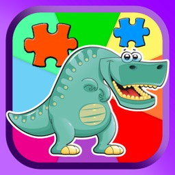 Dinosaur Jigsaw Puzzles Learning Games For Kids