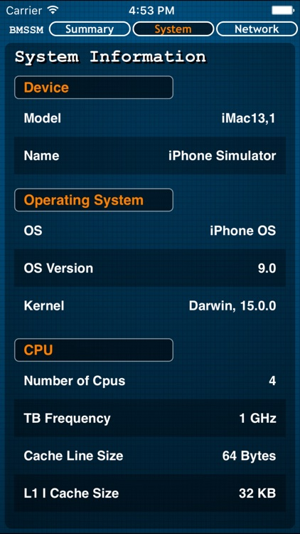 Battery Memory System Status Monitor(Premium) screenshot-2