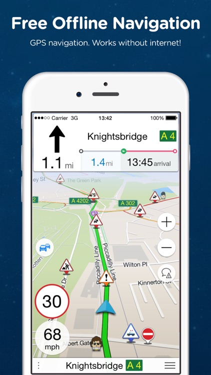 Navmii GPS UK & ROI: Offline Navigation & Traffic
