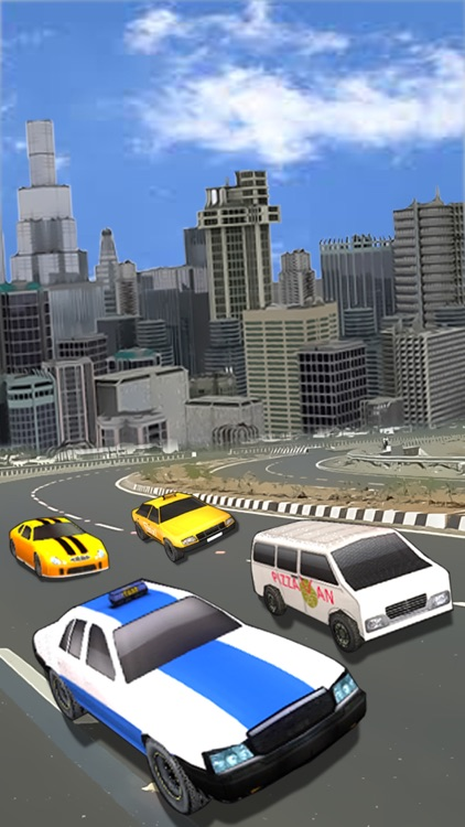 Crazy City Racer screenshot-3