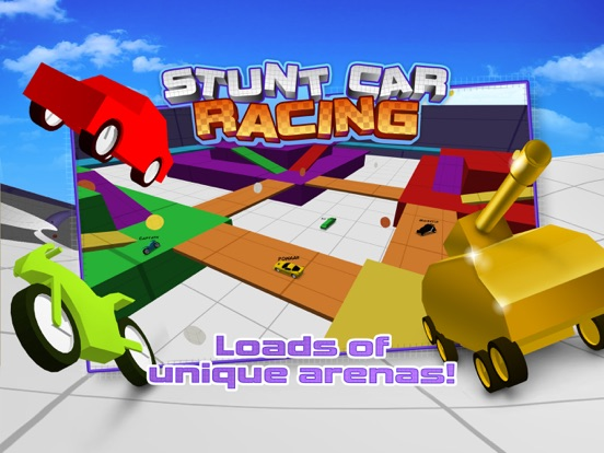 Скачать игру Stunt Car Racing - Multiplayer