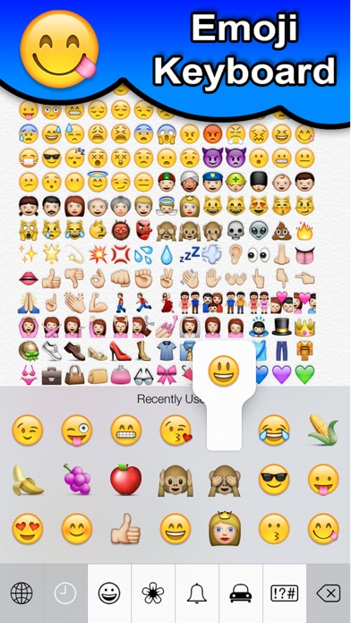 SMS Smileys Emoji Sticker PROのおすすめ画像1