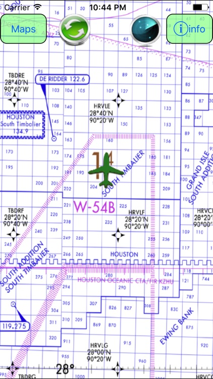 US Gulf Coast VFR Aeronautical Charts screenshot-3