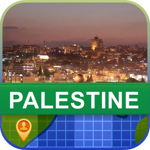 Offline Palestine Map - World Offline Maps
