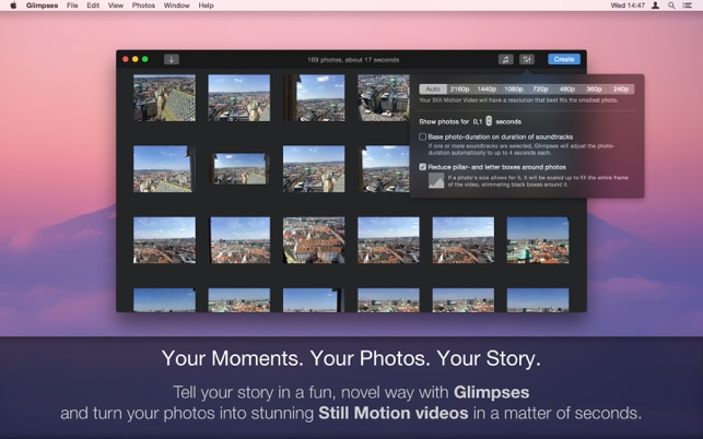 ‎Glimpses - Still Motion Videos Screenshot