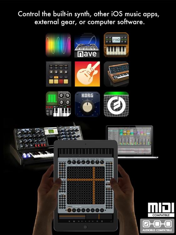 Arpeggionome Pro | matrix arpeggiator screenshot-4