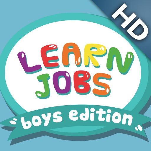 ABC Baby Learn Jobs – Boys Edition - 3 in 1 Game for Preschool Kids – Memorize Names of Professions and Occupations