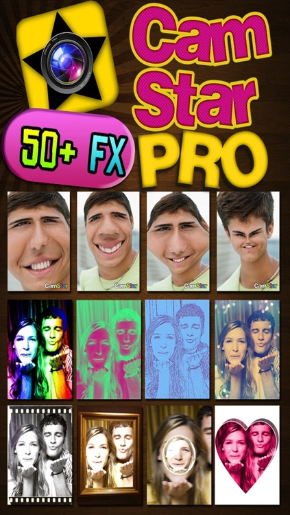 CamStar Pro - Fun Live Photo Booth FX via Camera and Video for IG, FB, PS, Tumblr