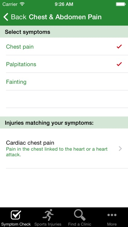 SportsInjuryClinic screenshot-3