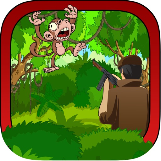 Jungle Monkey Hunting - A Forest Animal Shooting Mania