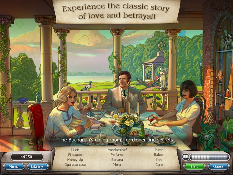 The Great Gatsby: Classic Adventures Full screenshot-1