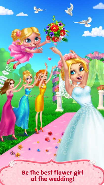Flower Girl: Big Wedding Day