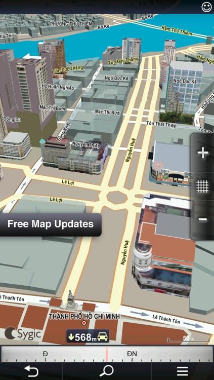 Sygic Việt Nam: GPS Navigation screenshot-3