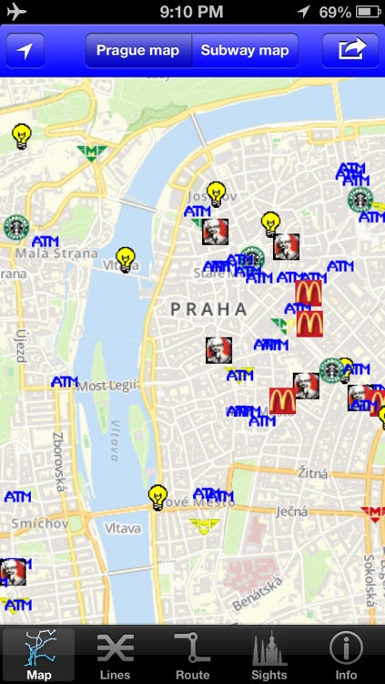 Prague Subway Guide with Offline map