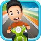 De Kelvin Saigon Magdalena Adventure - Free Scooter Racing Game icon
