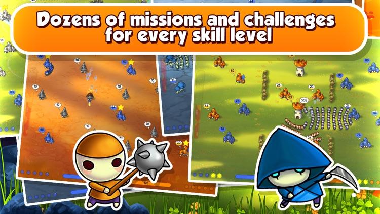 Mushroom Wars Mini screenshot-4