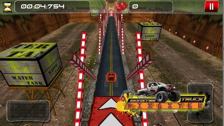 Monster Truck Disaster ( 3D Car Racing Games ) screenshot-3