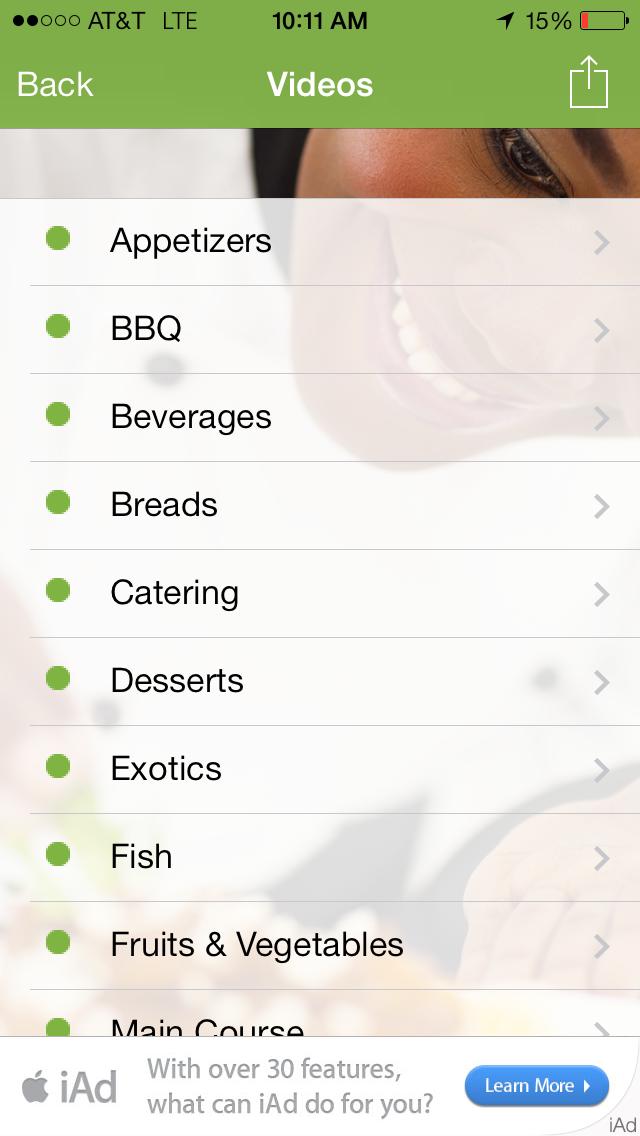Black Food - African, Vegan & Soul Food Recipes screenshot two