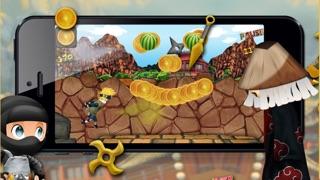 忍者一族と木の葉忍者対木の葉敵侍HD - 無料ゲーム!のおすすめ画像1