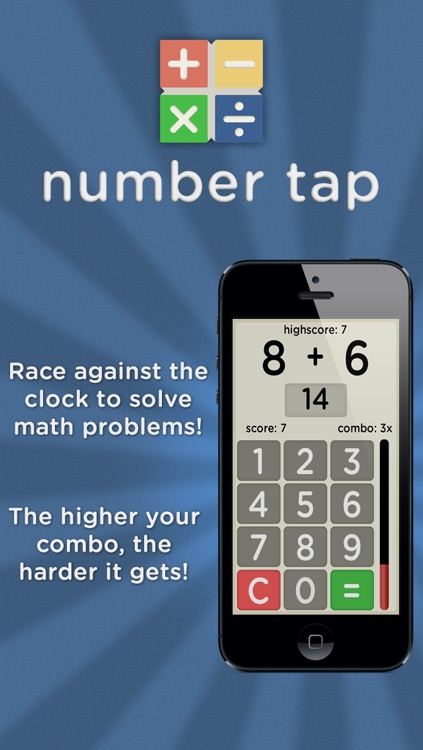 Number Tap - Math Master by Dean Murphy