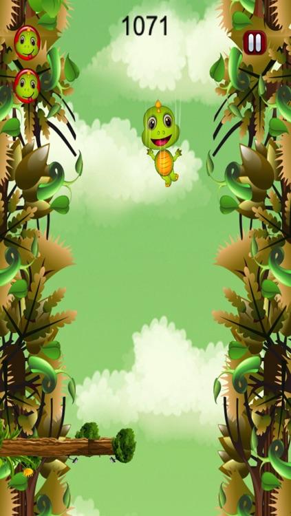 Dino Drop Jurassic Rush: Escape the Hunter War screenshot-3