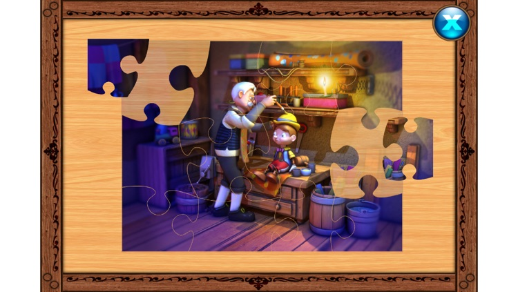Pinocchio - Book - Cards Match Game - Jigsaw Puzzle screenshot-3