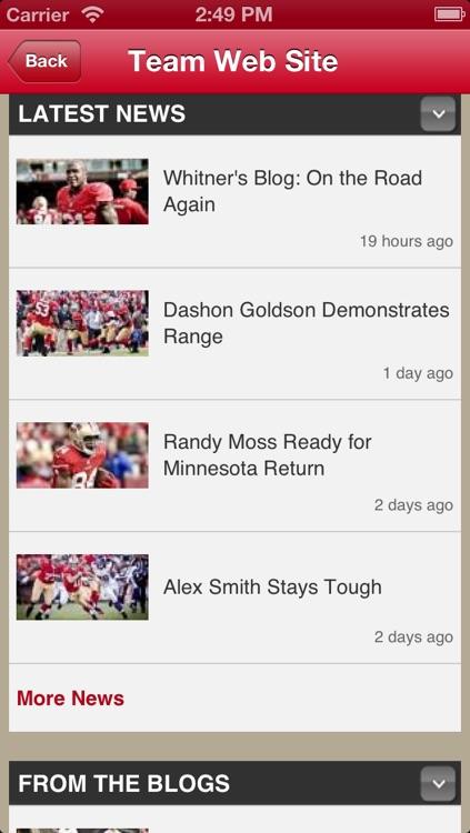 49ers Fan Static screenshot-3