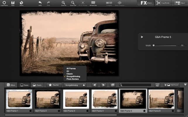 FX Photo Studio Screenshot