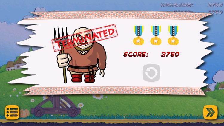 Catapult Attack Lite screenshot-4