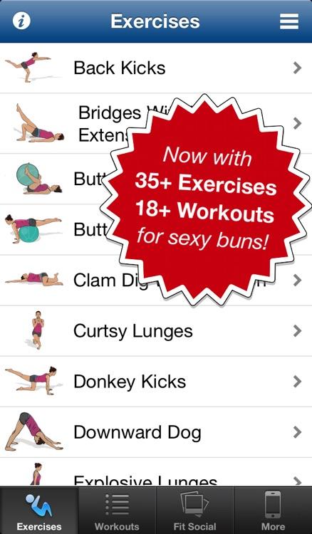 Butt Workouts Pro