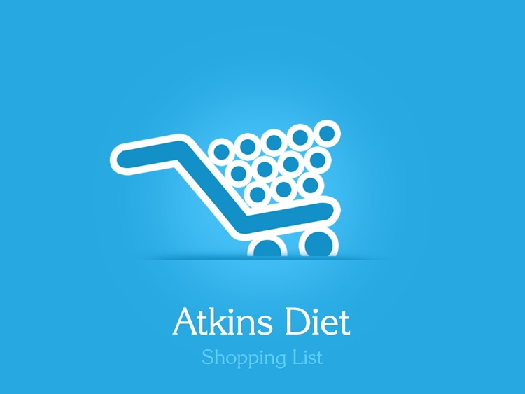 Atkins Diet Shopping List HD