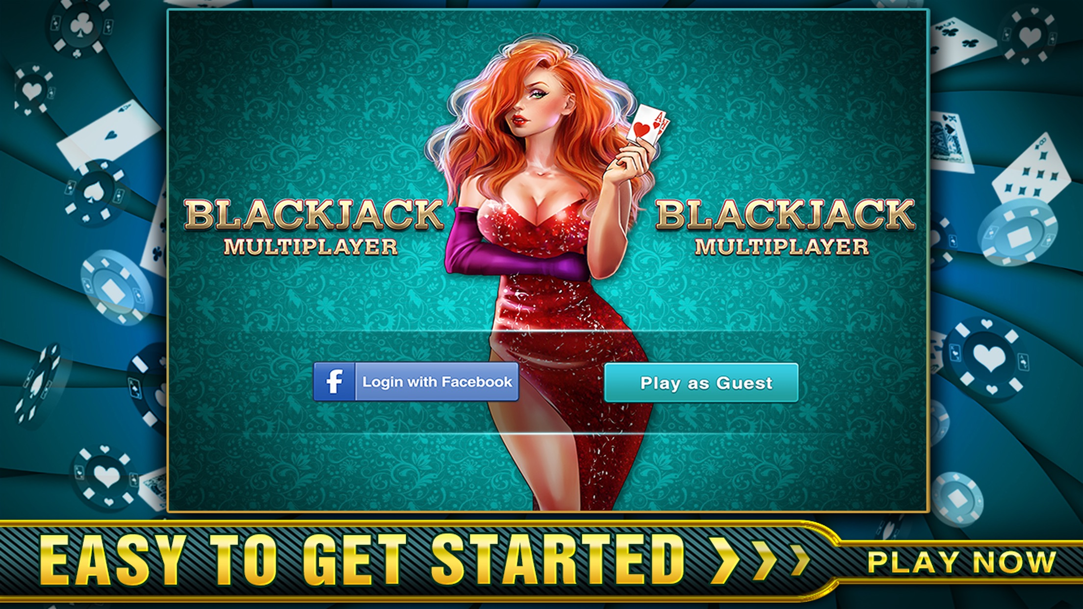 BlackJack Online - Just Like Vegas! Screenshot