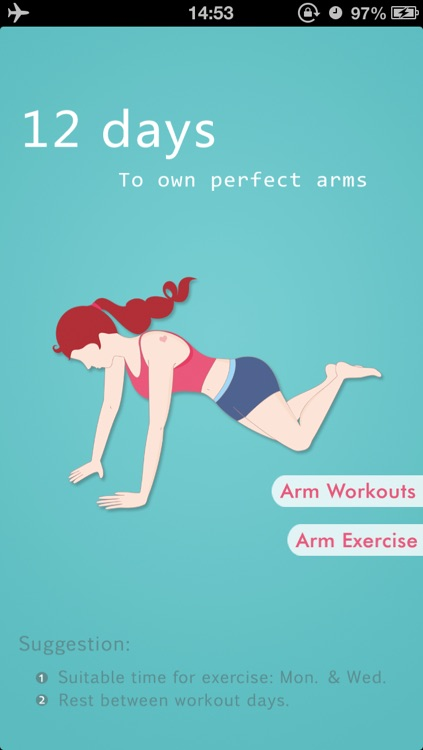 Arm Workouts - Owning Perfect Arms in 12 Days