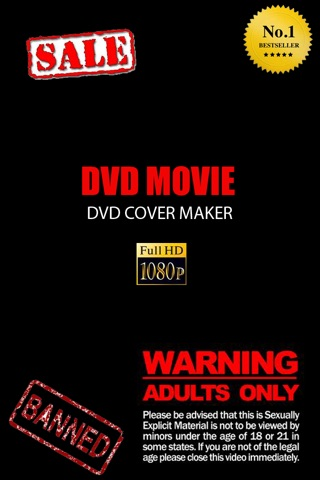 DVD Movie Cover Maker Screenshot on iOS