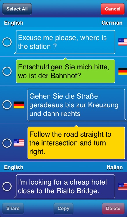 Travel Voice Translator Linguatec screenshot-3