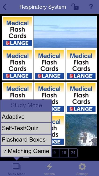 Pathophysiology Lange Flash Cards screenshot-3