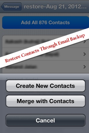 Contacts backup transfer sync copy and export your whole contacts backup transfer sync copy and export your whole address book in vcardvcf format on the app store solutioingenieria Choice Image