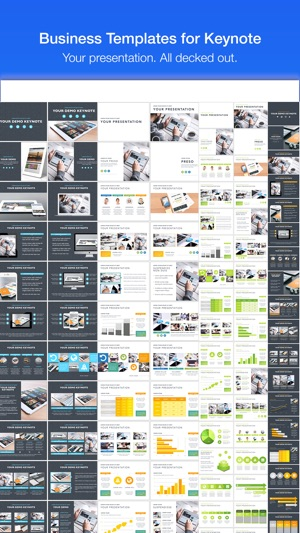 Business templates for keynote on the app store accmission Gallery